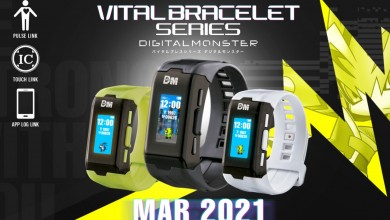 Photo of Revelado el Digimon Vital Bracelet para 2021