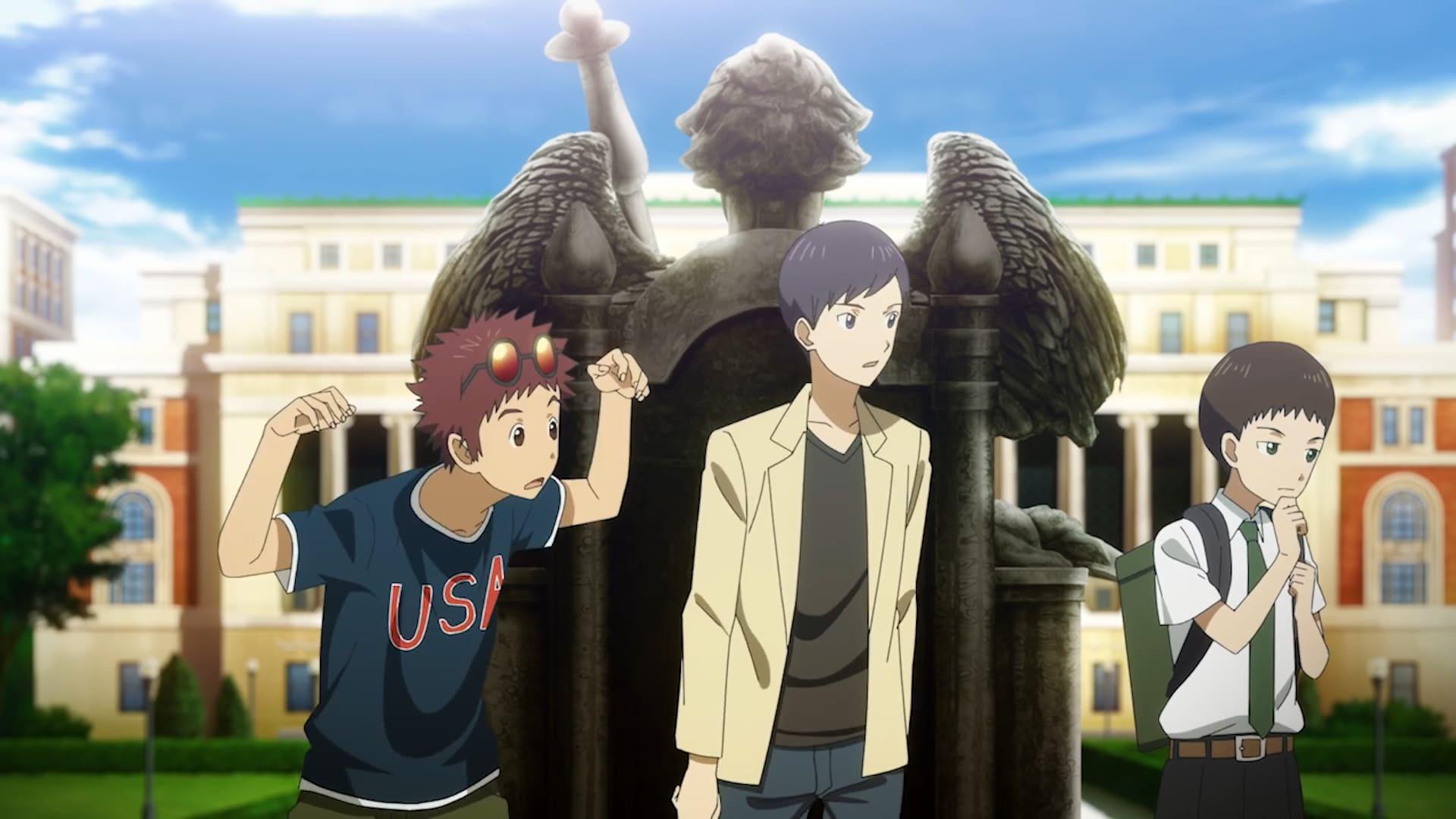 Photo of Nuevo clip que muestra a los chicos de Digimon 02