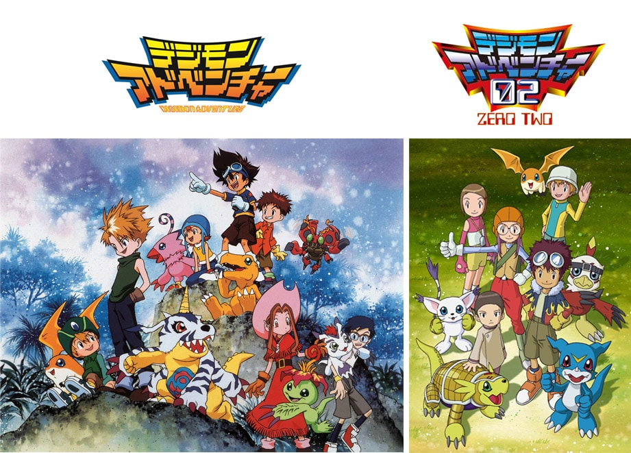 Digimon Adventure & 02