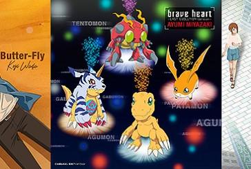 Portadas & tracklist de los nuevos cds de Digimon Adventure