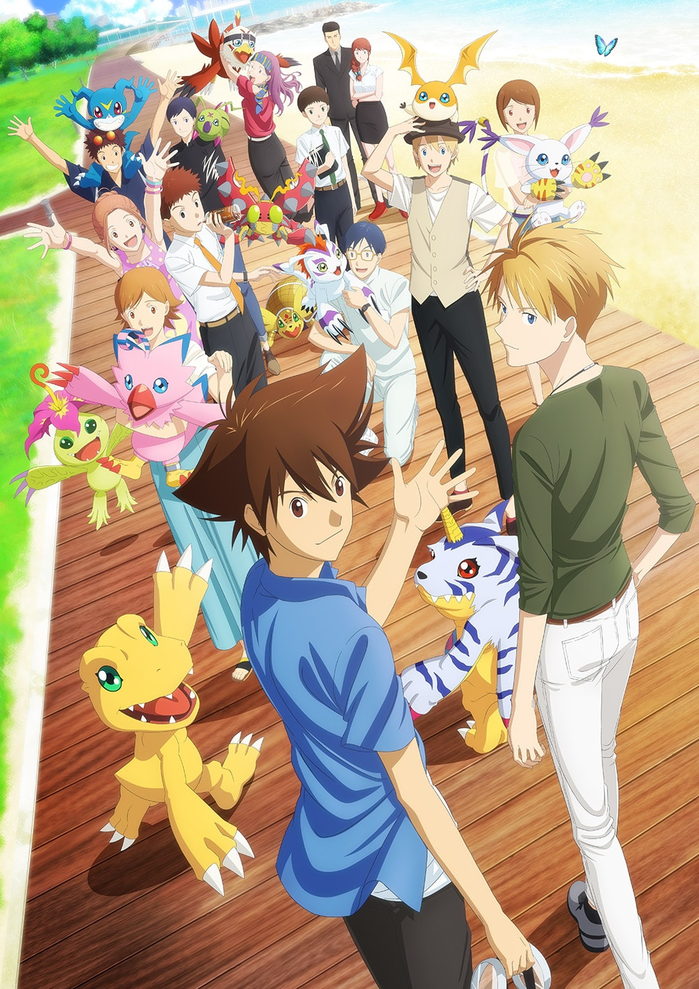 Photo of Nuevo Pv e información sobre Digimon Adventure Last Evolution – Kizuna