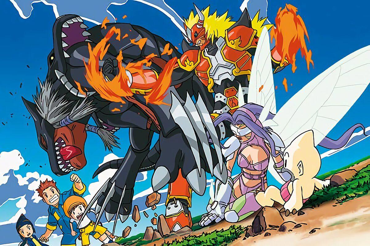 Photo of Stream de Digimon Frontier, en Niconico.