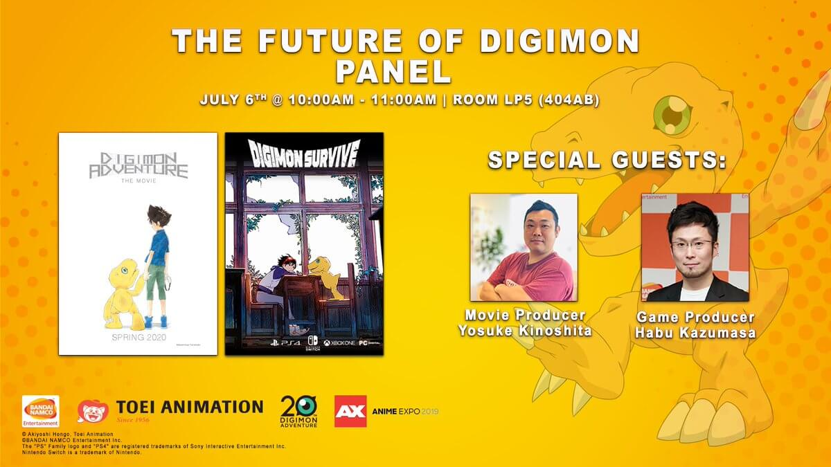 "Photo of NOVEDADES – ""The future of digimon"" panel."