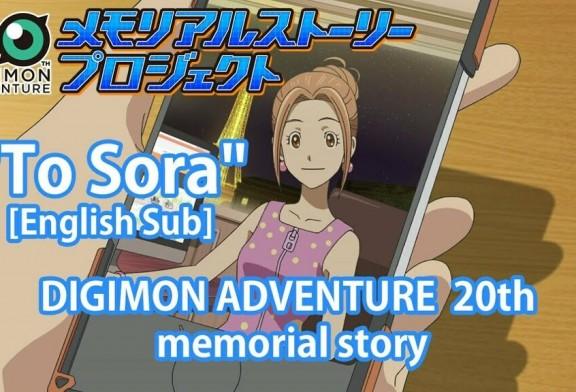 Ya puedes ver el short story de Digimon Adventure: